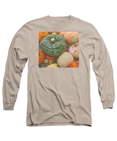 Shades Of Autumn Long Sleeve T-Shirt