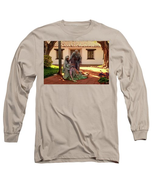Shadow Of The Cross Detail Long Sleeve T-Shirt