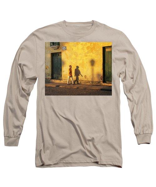 Shadow Walking Long Sleeve T-Shirt