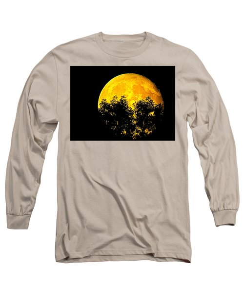 Shadows In The Moon Long Sleeve T-Shirt