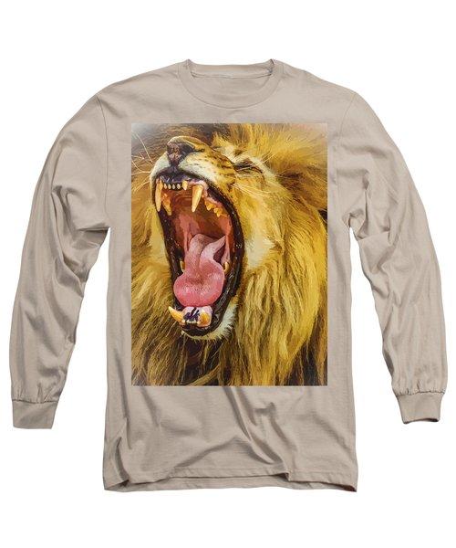 Stay Away From My Teeth Long Sleeve T-Shirt by Moustafa Al Hatter