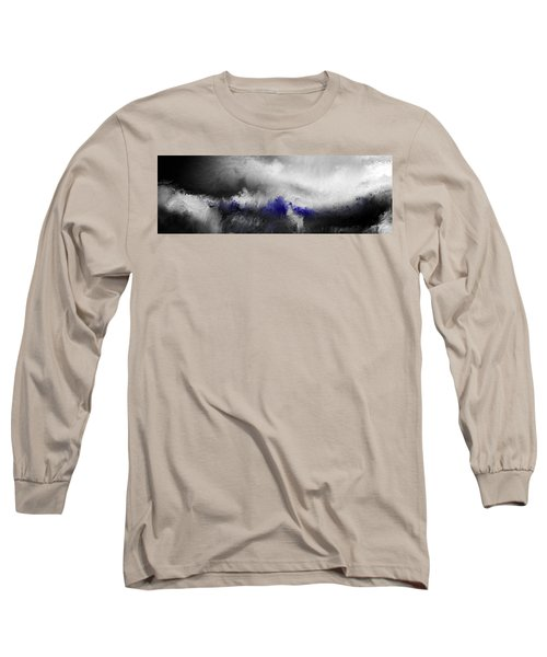 Shamed And Crucified. Matthew 27 31 Long Sleeve T-Shirt by Mark Lawrence