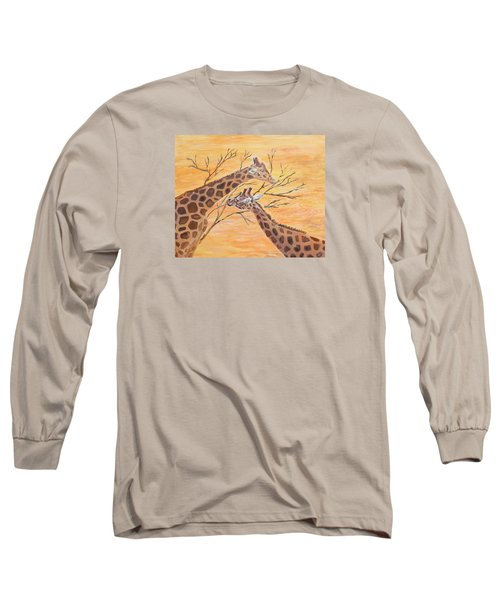Sharing Long Sleeve T-Shirt by Elizabeth Lock