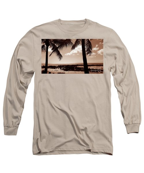 Long Sleeve T-Shirt featuring the photograph Shark's Cove by Kristine Merc