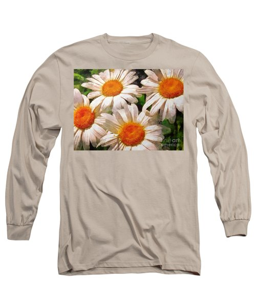Shasta Daisies 2015 Long Sleeve T-Shirt
