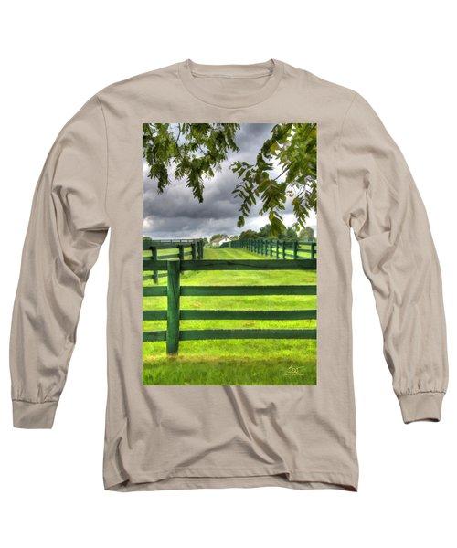 Shawanee Fences Long Sleeve T-Shirt