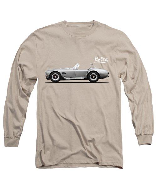 Shelby Cobra 427 Sc 1965 Long Sleeve T-Shirt by Mark Rogan