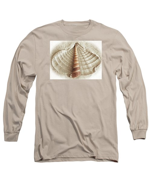 Shell In The Sand Long Sleeve T-Shirt