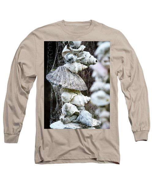 Shells Composition Long Sleeve T-Shirt by Yurix Sardinelly