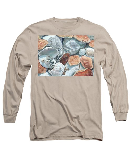Shells Of The Puget Sound Long Sleeve T-Shirt