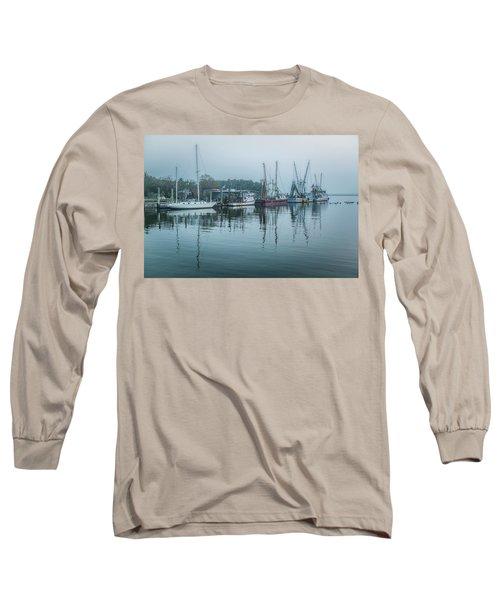 Shem Creek Fog Long Sleeve T-Shirt