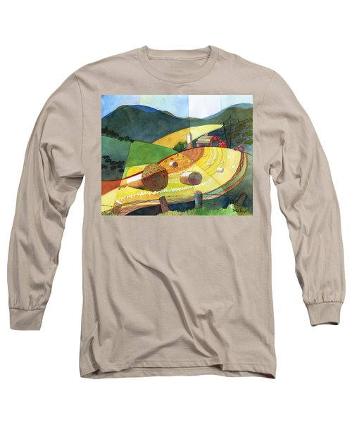 Shenandoah Haystacks Long Sleeve T-Shirt