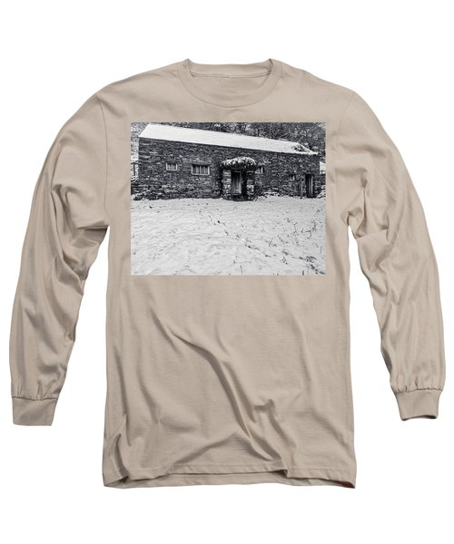 Long Sleeve T-Shirt featuring the photograph Shepherds Cottage by Keith Elliott