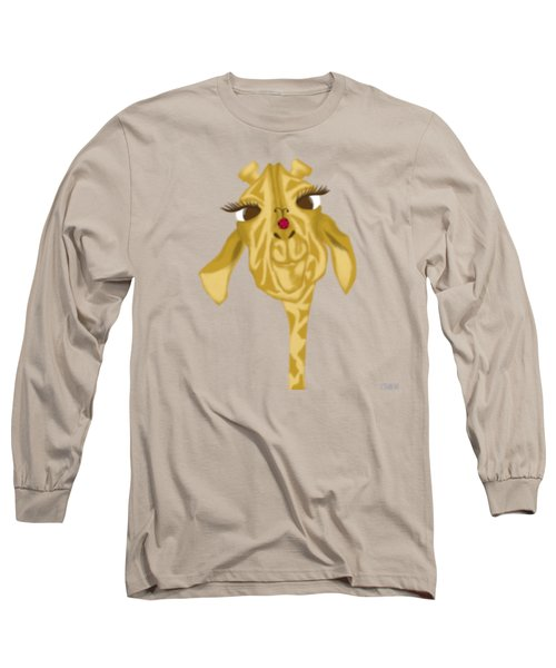 Sherbet And Her Visitor Long Sleeve T-Shirt