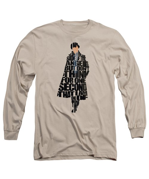 Sherlock - Benedict Cumberbatch Long Sleeve T-Shirt
