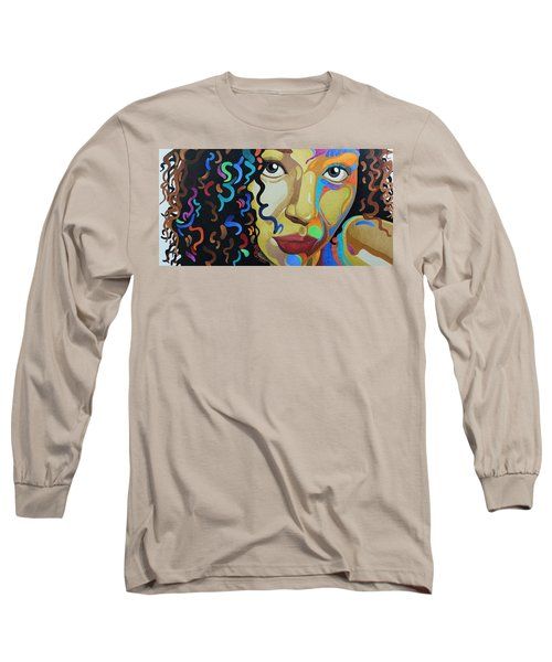 She's Complicated Long Sleeve T-Shirt by William Roby
