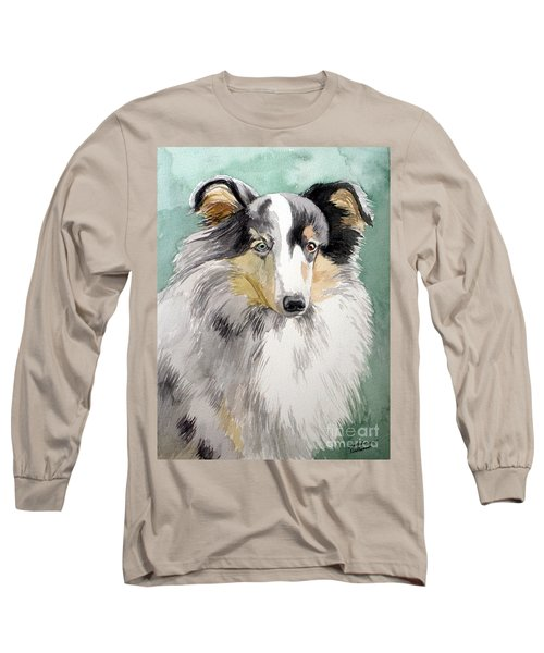 Shetland Sheep Dog Long Sleeve T-Shirt