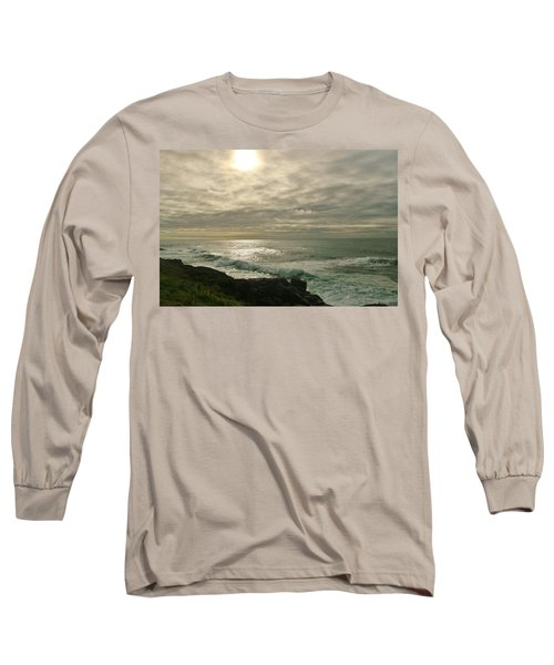Shimmery  Light Long Sleeve T-Shirt by Sheila Ping