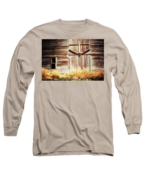 Shine The Light On Me Long Sleeve T-Shirt by Julie Hamilton