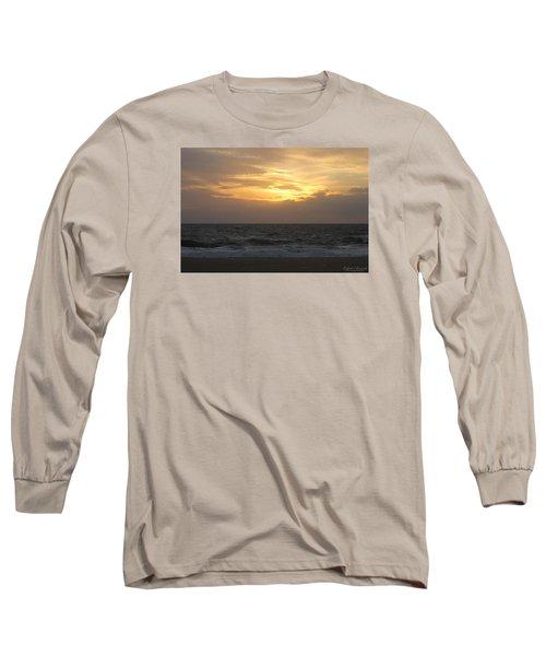 Shining Clouds Long Sleeve T-Shirt by Robert Banach