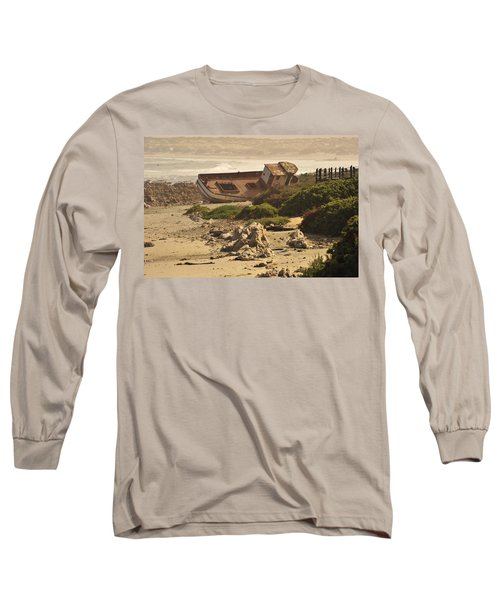 Shipwrecked Long Sleeve T-Shirt by Patrick Kain