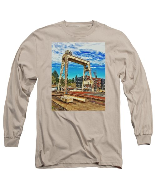Shipyard Lunch Break Long Sleeve T-Shirt