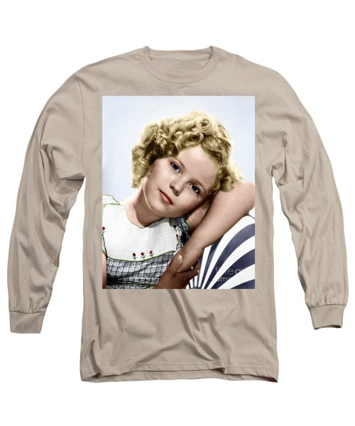 Shirley Temple Long Sleeve T-Shirt by Granger