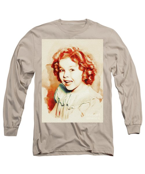 Shirley Temple, Movie Star Long Sleeve T-Shirt