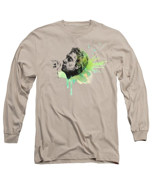 Shiver Long Sleeve T-Shirt by Romualdo Salazar