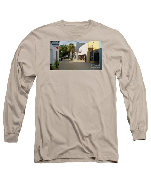 Shops On St George Street  Long Sleeve T-Shirt