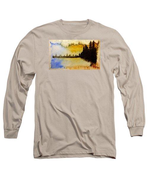 Shoreline 2 Long Sleeve T-Shirt by R Kyllo