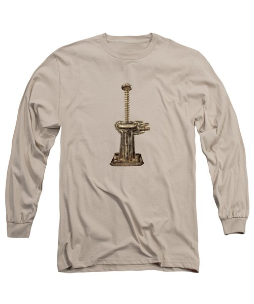 Short Enclosed Screw Jack I Long Sleeve T-Shirt