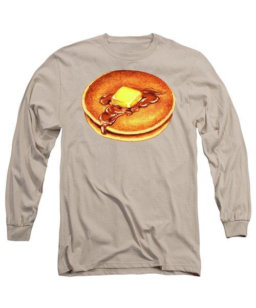 Short Stack Pattern Long Sleeve T-Shirt