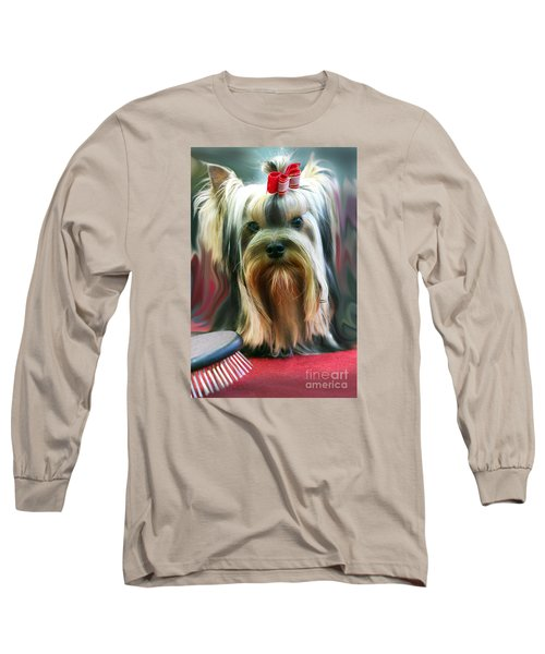 Show Girl Long Sleeve T-Shirt by Graham Hawcroft pixsellpix