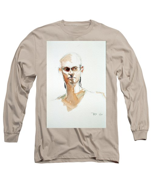 Side Glance Long Sleeve T-Shirt