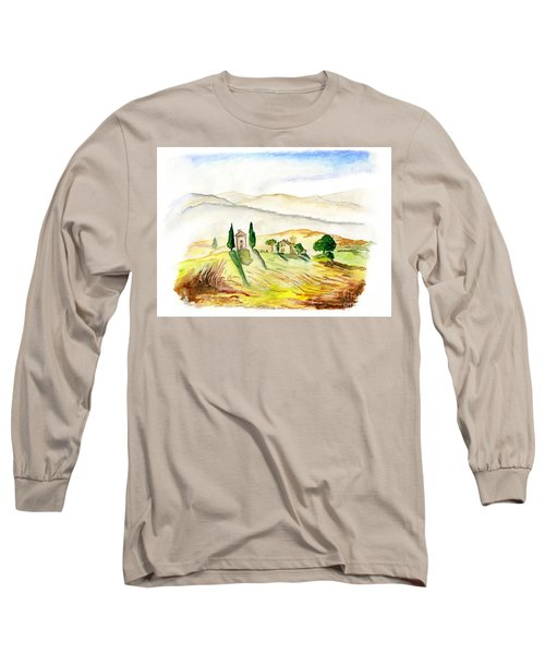 Siena. Italy Long Sleeve T-Shirt