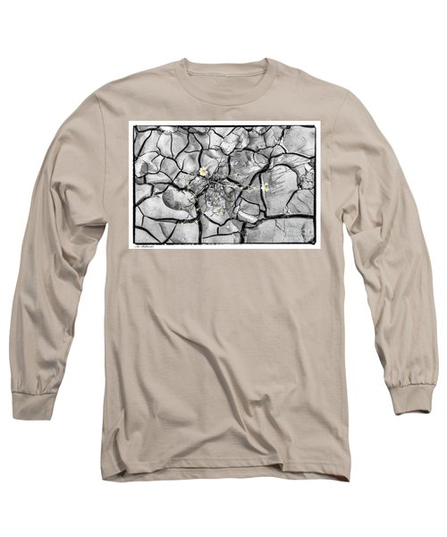 Long Sleeve T-Shirt featuring the photograph Signs Of Life by Arik Baltinester