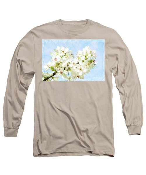 Signs Of Spring Long Sleeve T-Shirt by Inspirational Photo Creations Audrey Woods