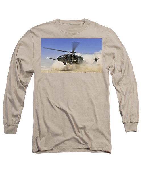 Sikorsky Hh-60 Pave Hawk Long Sleeve T-Shirt