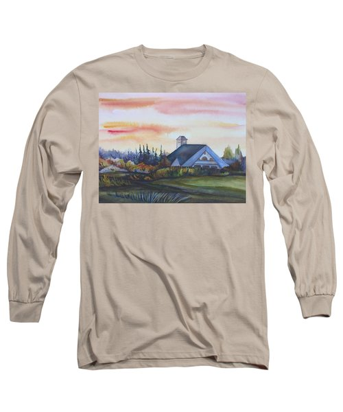 Silence Upon Midnapore Long Sleeve T-Shirt by Anna  Duyunova