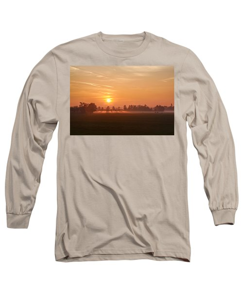 Long Sleeve T-Shirt featuring the photograph Silent Prelude by Annie Snel