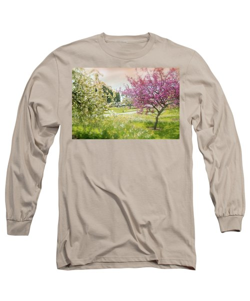 Long Sleeve T-Shirt featuring the photograph Silent Wish You Make by Diana Angstadt