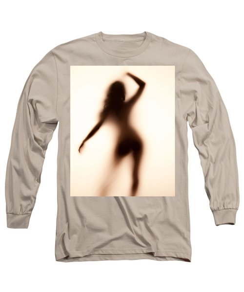 Silhouette 117 Long Sleeve T-Shirt by Michael Fryd