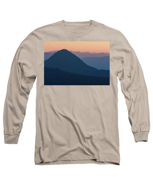 Silhouettes At Sunset, No. 2 Long Sleeve T-Shirt
