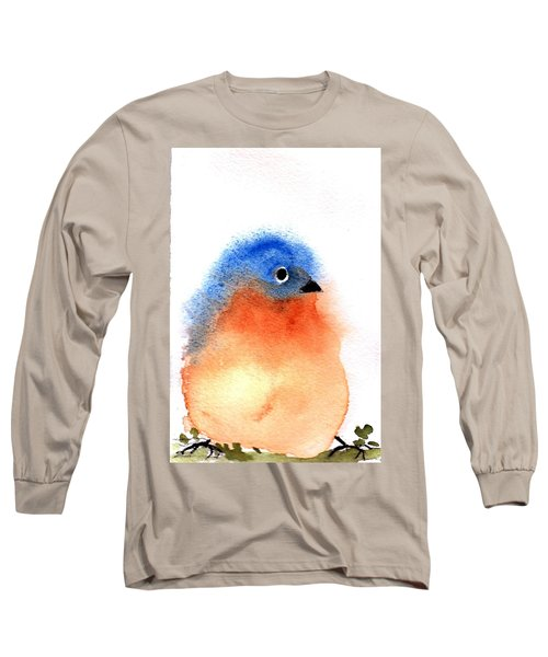 Silly Bird #2 Long Sleeve T-Shirt by Anne Duke