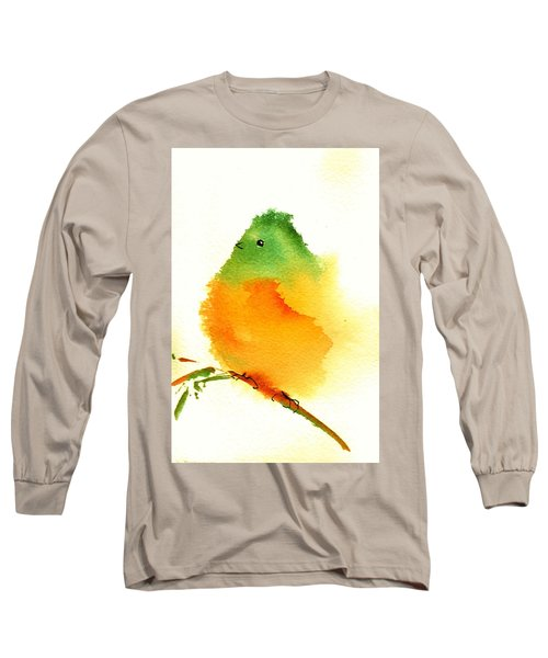 Silly Bird  #3 Long Sleeve T-Shirt by Anne Duke