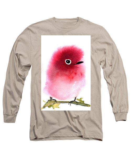 Silly Bird #4 Long Sleeve T-Shirt by Anne Duke