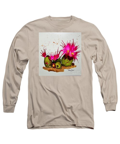 Silly Cactus Long Sleeve T-Shirt