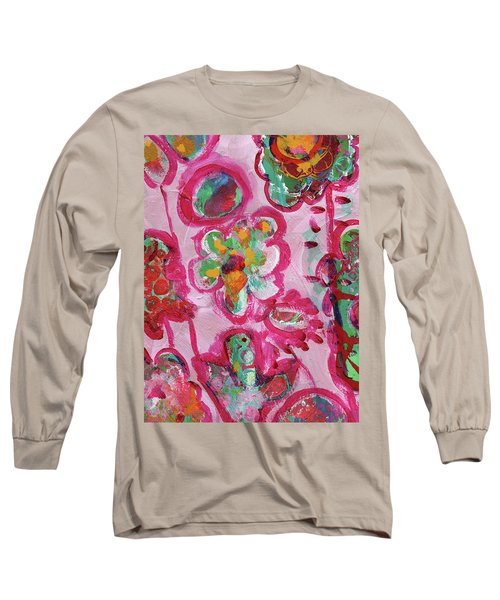 Silly Flowers Long Sleeve T-Shirt