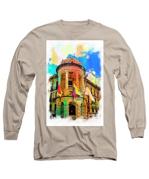 Silly Hall, Cuenca, Ecuador Long Sleeve T-Shirt